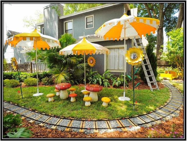 Garden Area For Kids Home Decor Ideas