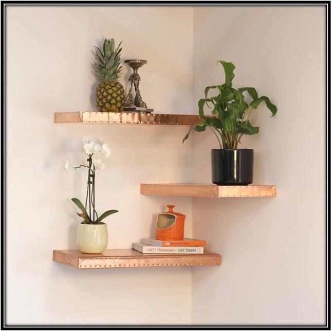 Hanging Shelves - Home decor ideas