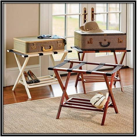 Luggage Stand - Home decor ideas