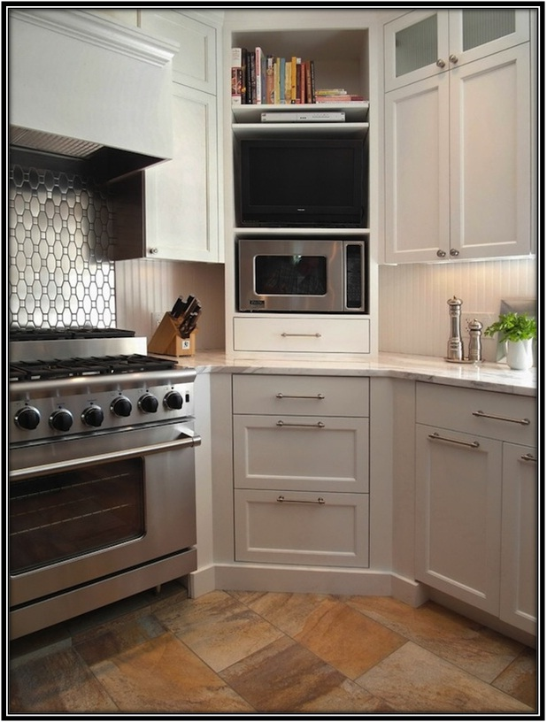Special Corner Elements For The Kitchen - Home decor ideas