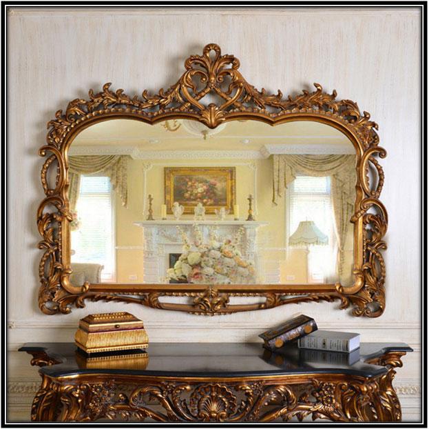 Antique Refined Mirror Home Decor Ideas