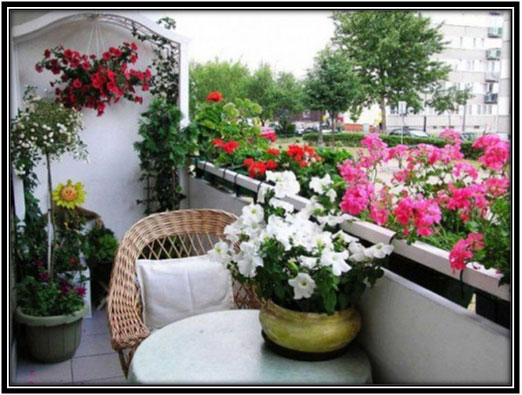 Balcony Into Garden Garden Decoration Ideas