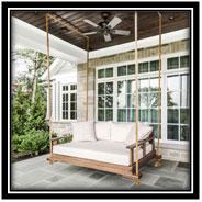 Comfortable Swing Porch Design Ideas