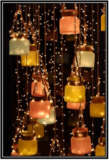 Creative Hanging Lamps - Home Decor Ideas