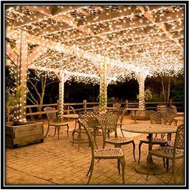 Light Up The Terrace - Home decor ideas