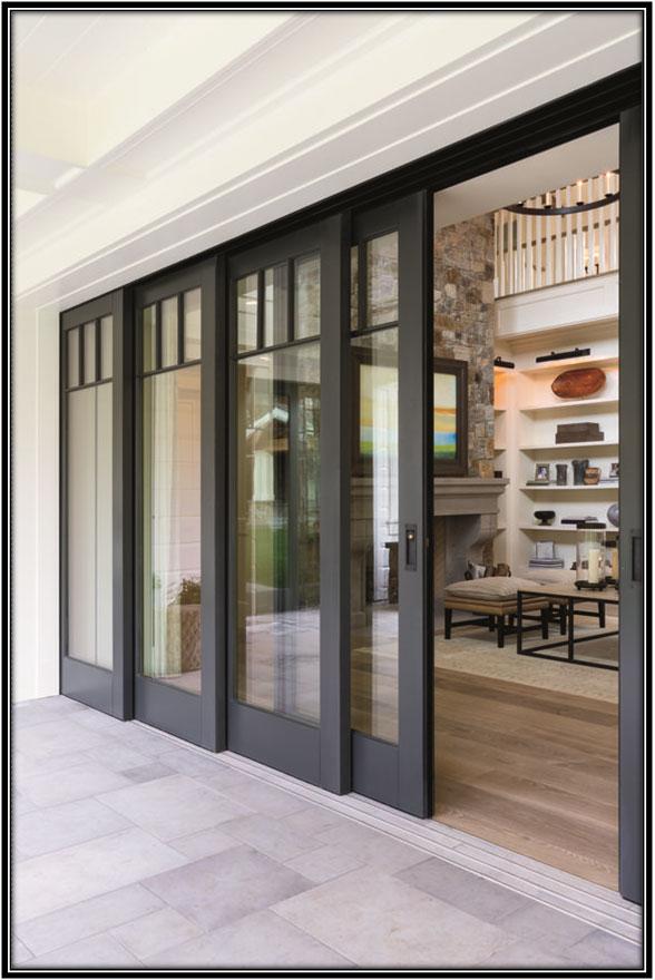 Living Room Sliding Door Home Decor Ideas