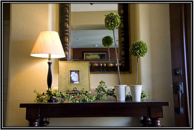 Mirror For The Foyer Home Decor Ideas