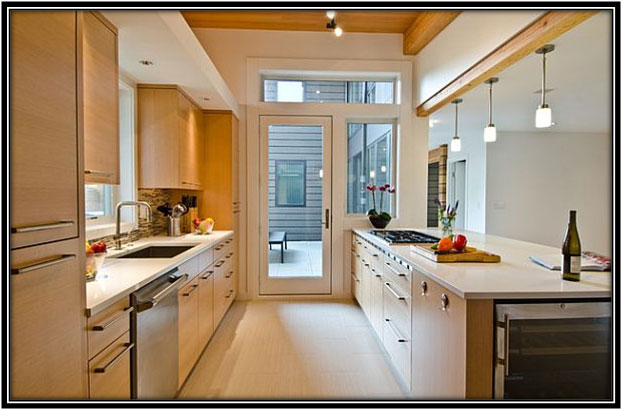 Modern Open Kitchen Home Decor Ideas