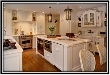 Pristine White Kitchen Home Decor Ideas