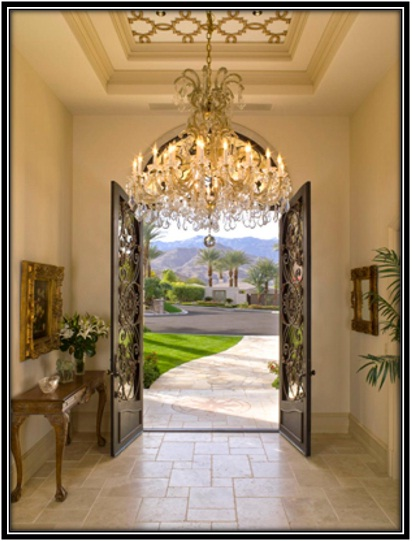 Royal Front Entrance - Home decor ideas