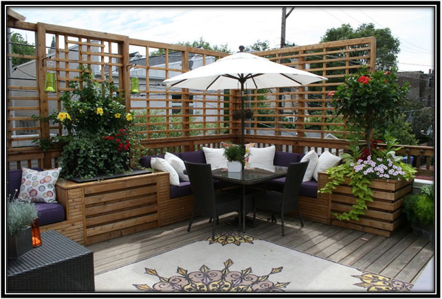 Terrace As Outdoor Dining Area Terrace Decor Ideas