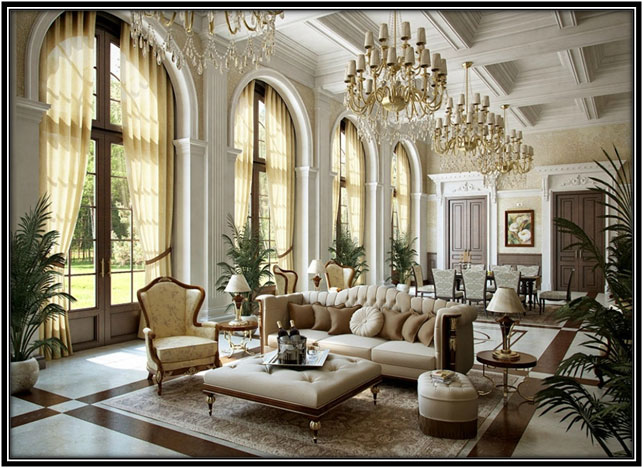 The Marvelously Luxurious Living Room Home Decor Ideas