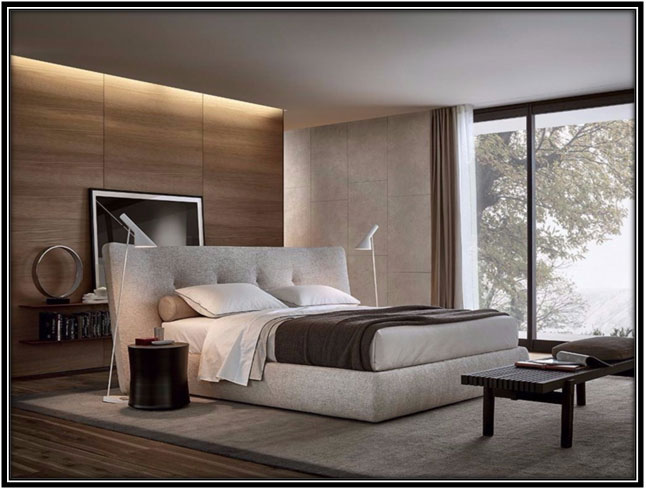 A Formal Bedroom Space Decoration Ideas