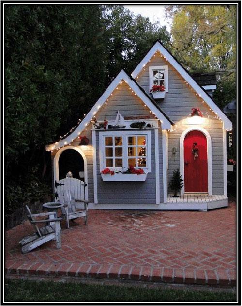 A Place For Christmas Celebrations She Sheds Home Decor Ideas