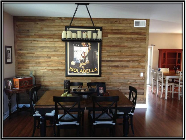Accent Wall Wood Wall Decoration Ideas
