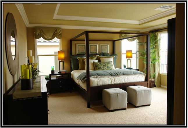 Country Side Bedroom Decoration Ideas