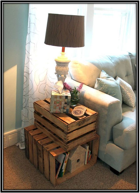Do It Yourself Side Table - Home Decor Ideas