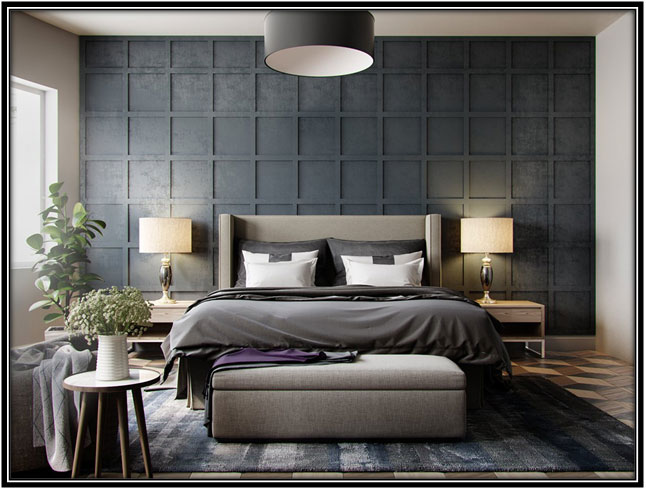 Feature Wall In The Bedroom Decoration Ideas