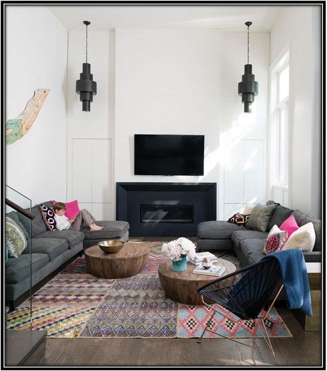 Friendly And Casual Family Room Family Room Decor Ideas
