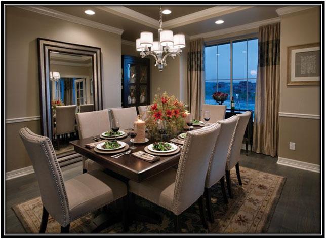 Luxury Dining Room Home Decor Ideas
