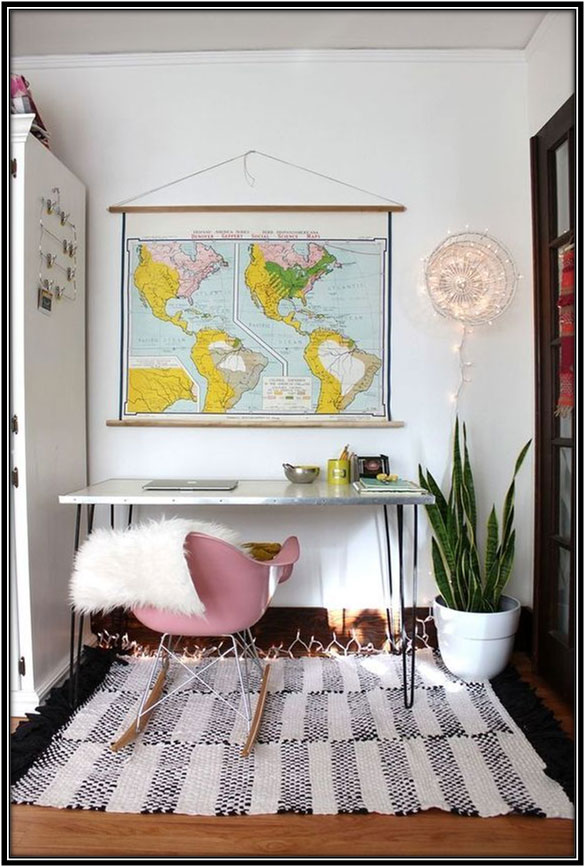 Map For The Wanderlust Soul Home Ware Decoration Items