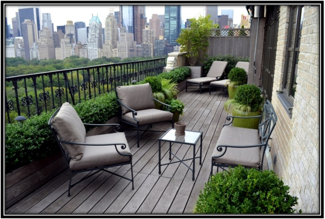 Minimal And Classy Terrace Decoration Ideas
