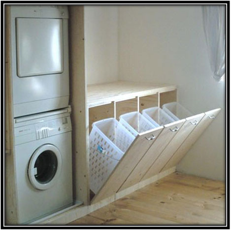 Multi Storage Washing Area Laundry Room Decoration Ideas