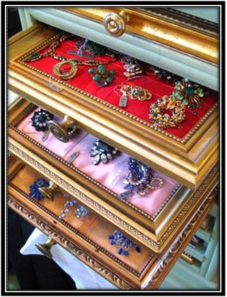 Sections For Ornaments And Other Jewellery Wardrobe Decor Ideas Home Decor Ideas