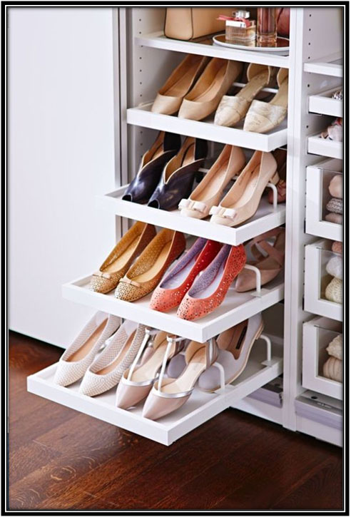 Space For Shoes Wardrobe Decor Ideas Home Decor Ideas