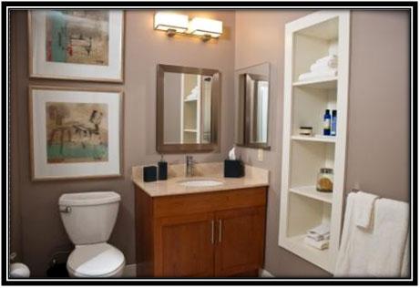 Storage In Bathroom - Home Decor Ideas