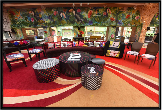 The Massive Living Area Bigg Boss House Interior Ideas