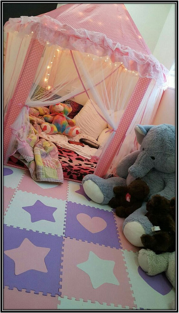 A Cozy Nook For The Little Girl Kids Room Decor Ideas Home Decor Ideas