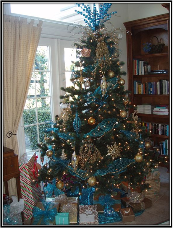 Blue Decor Ideas Christmas Tree Ideas