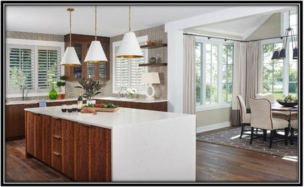 Brown And White Kitchen Home Decor Ideas