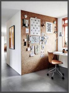 Cork Board Wall 2017 Home Decor Trends