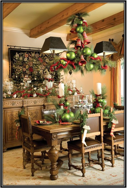 Decoration For Dining Room Christmas Decoration
