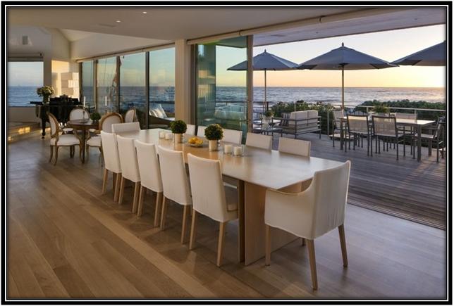 Dining Area Celebrity House Interior Ideas
