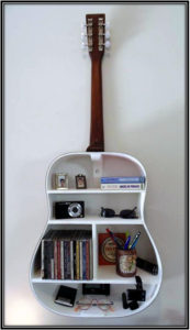 For The Music And Book Lovers Reading Corner Space Decor Ideas