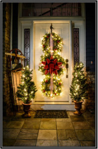 Lights At The Entrance - Home Decor Ideas