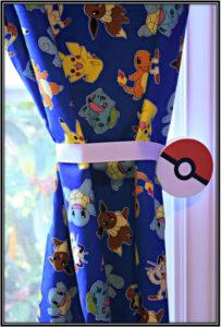 Pokemon Curtain Pokemon Bedroom Ideas