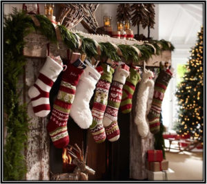 Socks Christmas Decoration Ideas