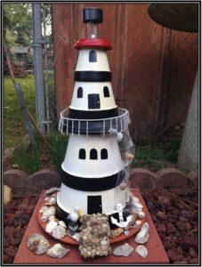 The Exact Same Replica Clay Pot Light House