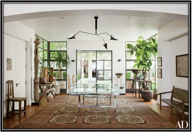 The Grand Entryway Celebrity House Interior Ideas