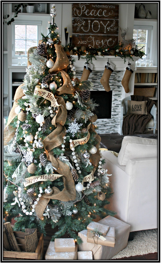 Tree With Message Christmas Tree Ideas