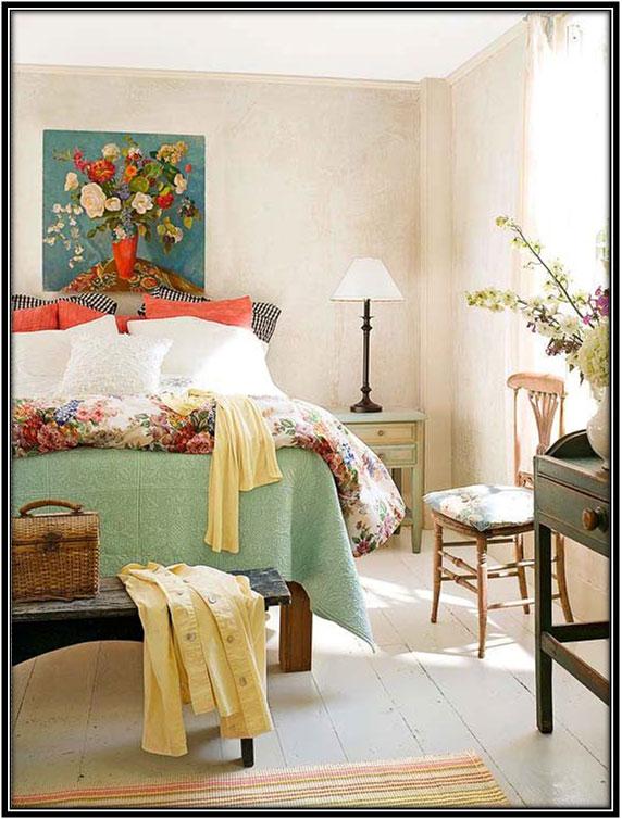 Use Bright Colors Farm House Ideas For Bedroom Home Decor Ideas
