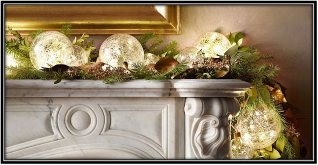 Use Lights In Christmas Decor - Home Decor Ideas