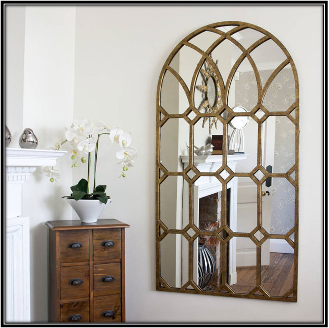 Window Mirror Interior Decorating Ideas