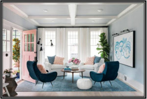 Soothing Living Room Home Design Ideas