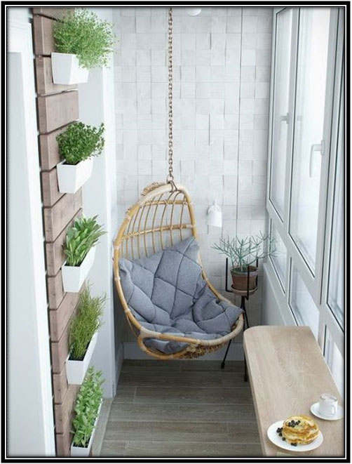 Swing It Away Garden Decoration Ideas