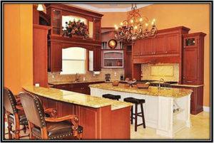 The Lavish Kitchen Dwayne Johnsons House Interior